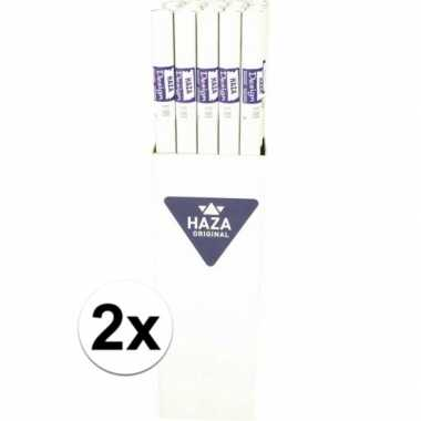 2x papieren tafelkleed op rol 800x118cm