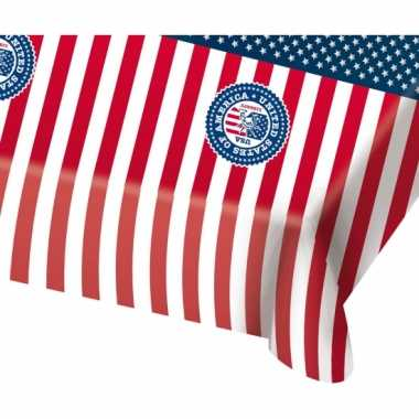 Amerikaans tafelkleed plastic