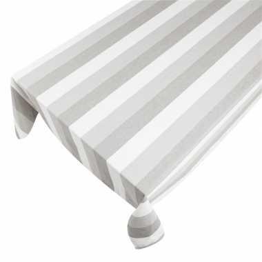 Binnen tafellaken taupe 140 x 250 cm