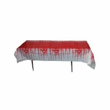 Bloedig tafelkleed 270x136 cm