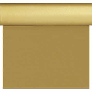 Feestartikelen gouden bruiloft tafelkleden/tafellopers/placemats 40 x