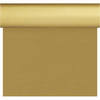 Feestartikelen gouden tafelkleden tafellopers placemats 40 x 480 cm