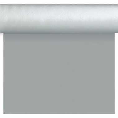 Feestartikelen kerst zilveren tafelkleden/tafellopers/placemats 40 x
