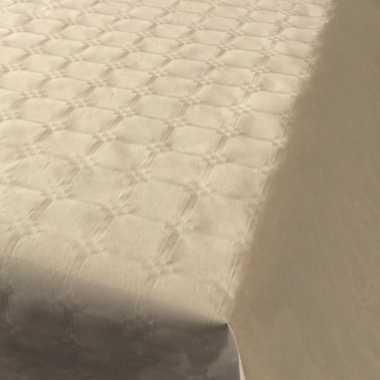 Feestartikelen papieren tafelkleed beige 800 x 118 cm