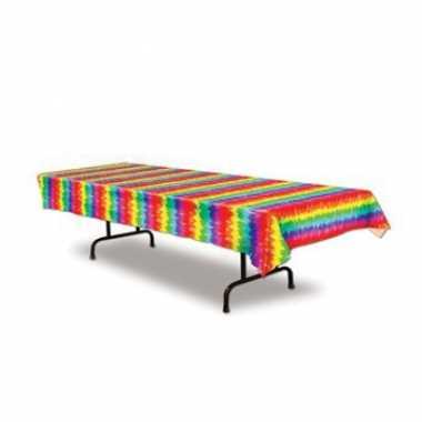 Gekleurd tafelkleed 275 x 135 cm
