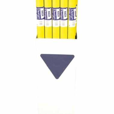 Gele tafelkleden 800x118cm