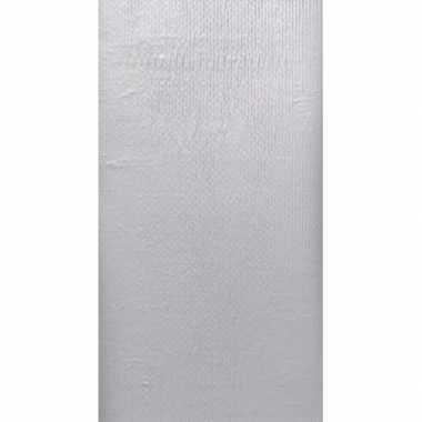 Kerst thema zilveren tafelkleed 138 x 220 cm