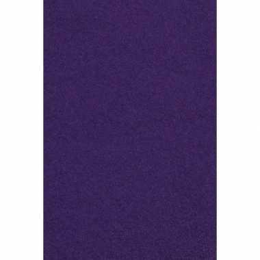 Papieren tafelkleden/tafellakens decoratie paars 137 x 274 cm