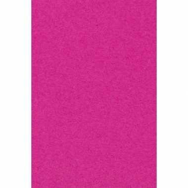 Papieren tafelkleden tafellakens decoratie roze 137 x 274 cm