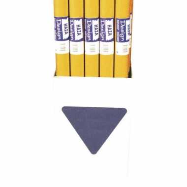 Papieren tafelkleed oranje 800x118cm