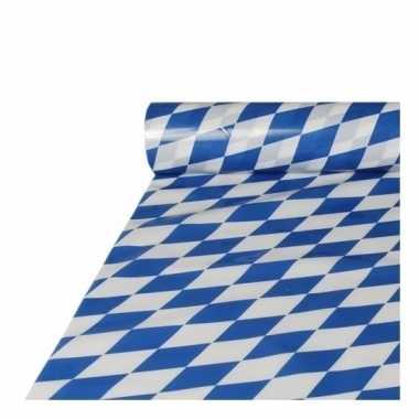 Plastic Beieren tafelkleed 20 meter