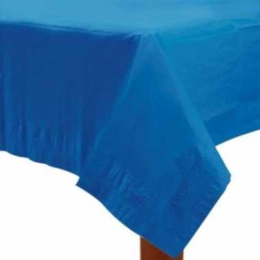 Tafellaken blauw 274 x 137 cm