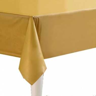 Tafellaken goud 274 x 137 cm