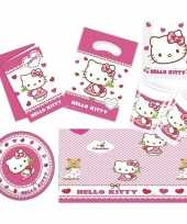 Hello kitty thema huis versieren 2 6 personen