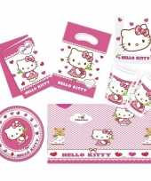 Hello kitty thema huis versieren 7 12 personen