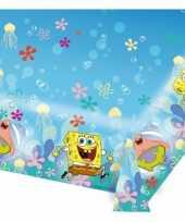 Kinderfeest spongebob tafelbedekking