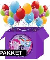 My little pony thema decoratie pakket